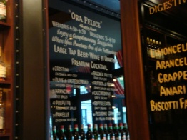 Manhattan Virtual Office Lunch Recommendation Bar Stuzzichini Interior