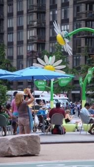 Solar Flower in Flatiron Plaza ManhattanVirtualOffice