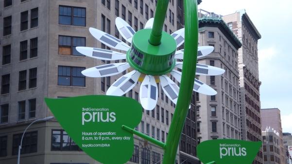 Solar Flowers near ManhattanVirtualOffice
