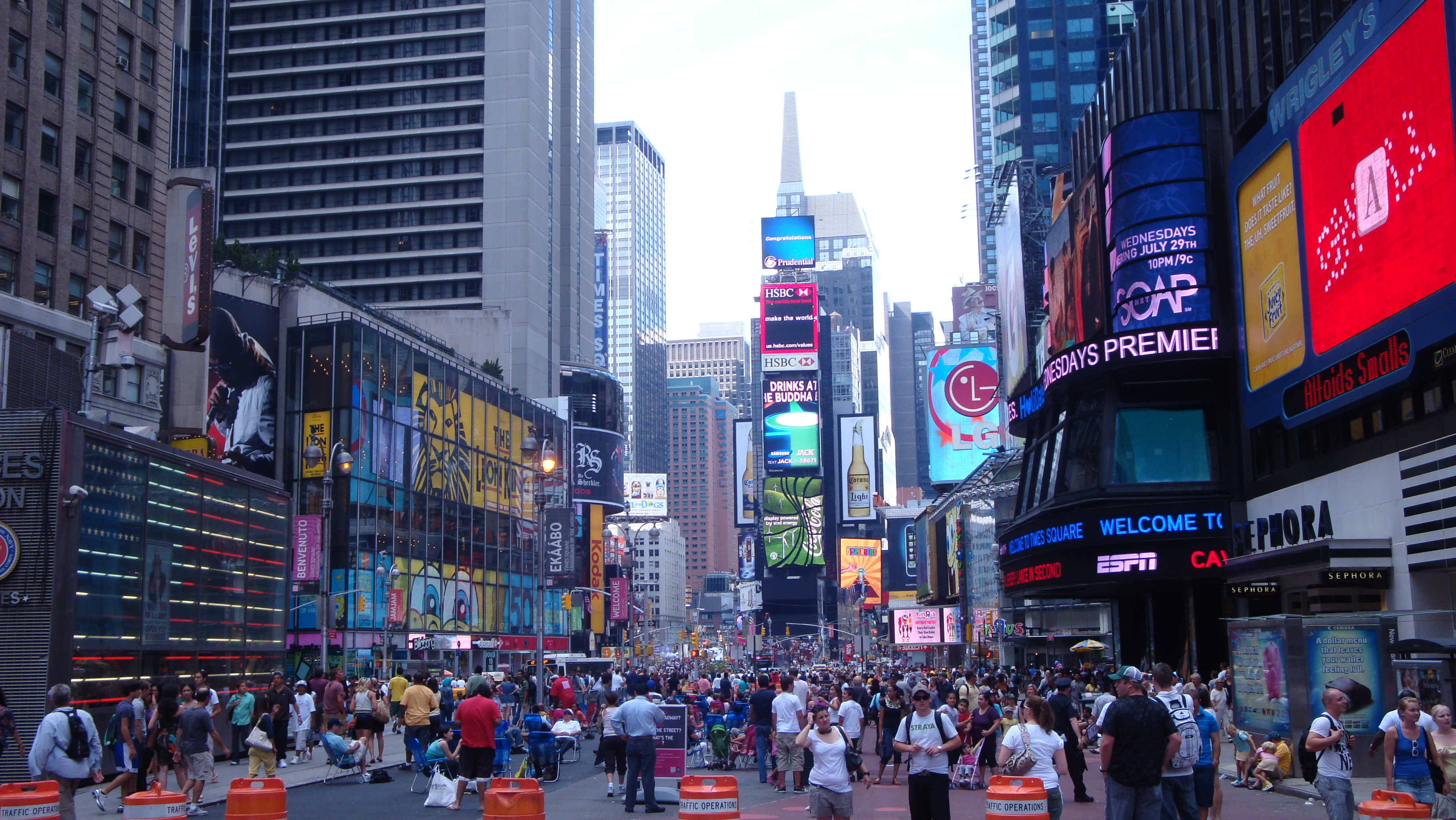 Broadway At Times Square Nyc Crossroads Of The World