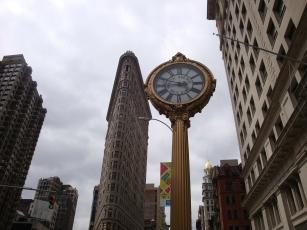 Fifth Avenue Building clock Flatiron Building Manhattan Virtual Office (2)