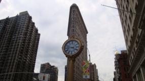 Fifth Avenue Building clock Flatiron Building Manhattan Virtual Office