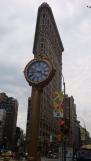 Fifth Avenue Building clock Flatiron Building near Manhattan Virtual Office