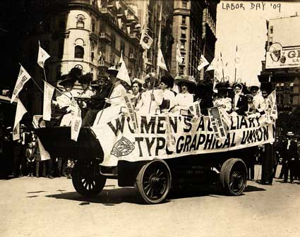 Labor Day 1909 Broadway and 24th Street