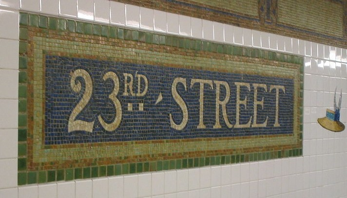 23rd Street Subway Station