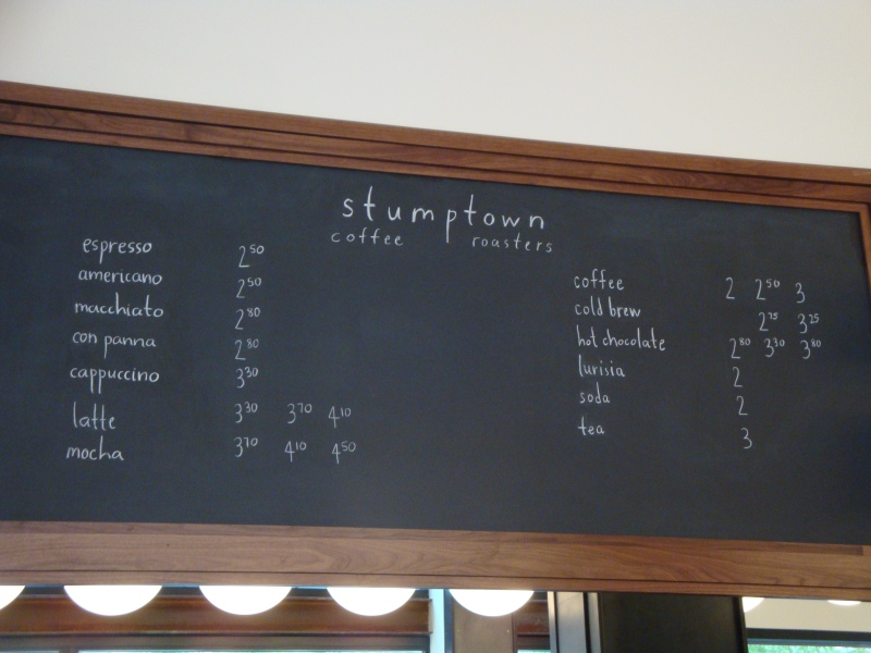 Stumptown Coffee Roasters near Manhattan Virtual Office