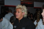 Anne Burrell from Food Networks Secrets of a Restaurant Chef