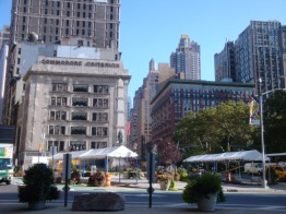 Madison Square Mark Setup Worth Square