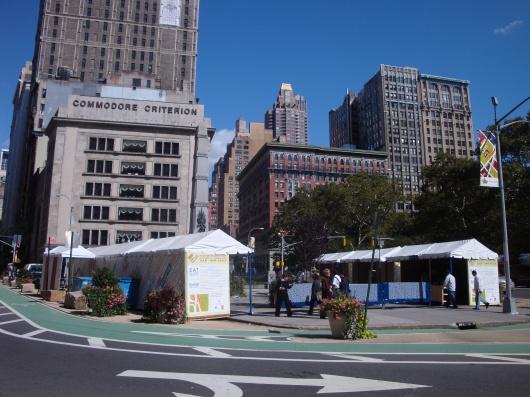 Madison Square Market Setup at Worth Square