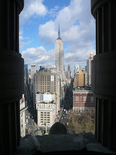 Neighborhood View from top of Flatiron Building