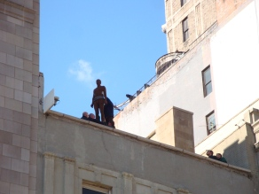 Antony Gormley Event Horizon Installation 204 Fifth Avenue (3)
