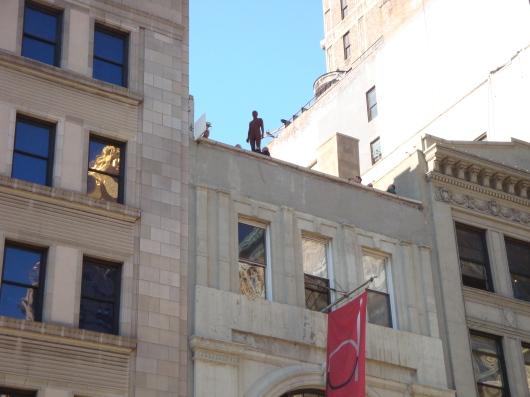 Antony Gormley Event Horizon Installation 204 Fifth Avenue (6)