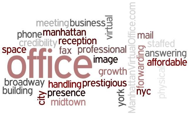 manhattan virtual office word cloud 4